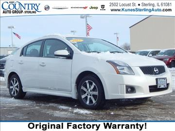 2012 Nissan Sentra for sale in Sterling, IL