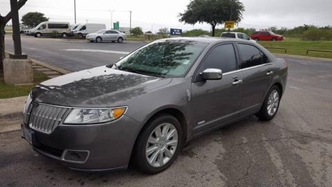 2012 Lincoln MKZ Hybrid for sale in Hutto, TX