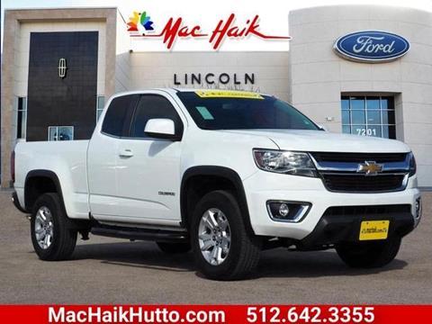 2015 Chevrolet Colorado for sale in Hutto, TX