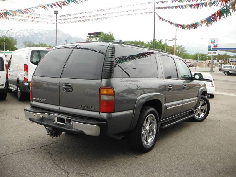 2001 Chevrolet Suburban 1500 LT 4WD 4dr SUV - South Salt Lake UT