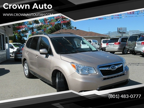 2016 Subaru Forester for sale in South Salt Lake City, UT