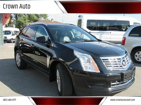 2016 Cadillac SRX for sale at Crown Auto in South Salt Lake City UT