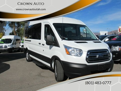 2019 Ford Transit Passenger for sale at Crown Auto in South Salt Lake City UT