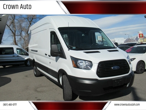 2019 Ford Transit Cargo 250 for sale at Crown Auto in South Salt Lake City UT