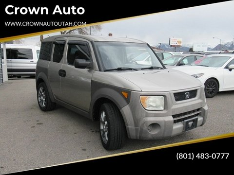 2004 Honda Element EX for sale at Crown Auto in South Salt Lake City UT