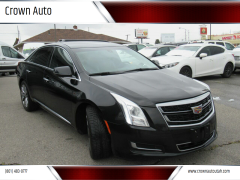 2016 Cadillac XTS Pro Livery for sale at Crown Auto in South Salt Lake City UT