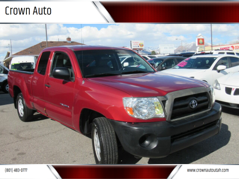 2007 Toyota Tacoma for sale at Crown Auto in South Salt Lake City UT