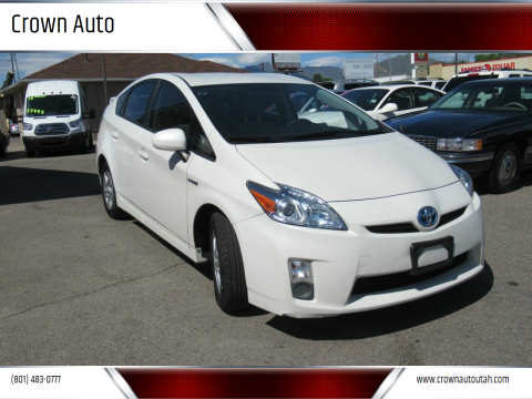 2011 Toyota Prius for sale at Crown Auto in South Salt Lake City UT