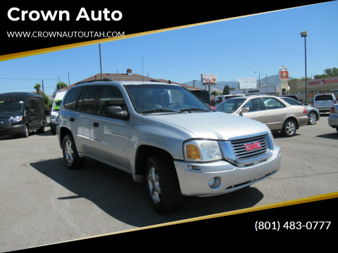2009 GMC Envoy for sale at Crown Auto in South Salt Lake City UT