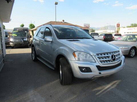 2009 Mercedes-Benz M-Class for sale at Crown Auto in South Salt Lake City UT