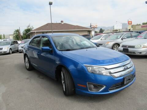 2012 Ford Fusion for sale at Crown Auto in South Salt Lake City UT