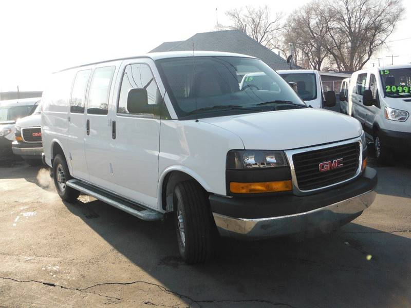 2015 GMC Savana Cargo 2500 3dr Cargo Van w/1WT - South Salt Lake UT