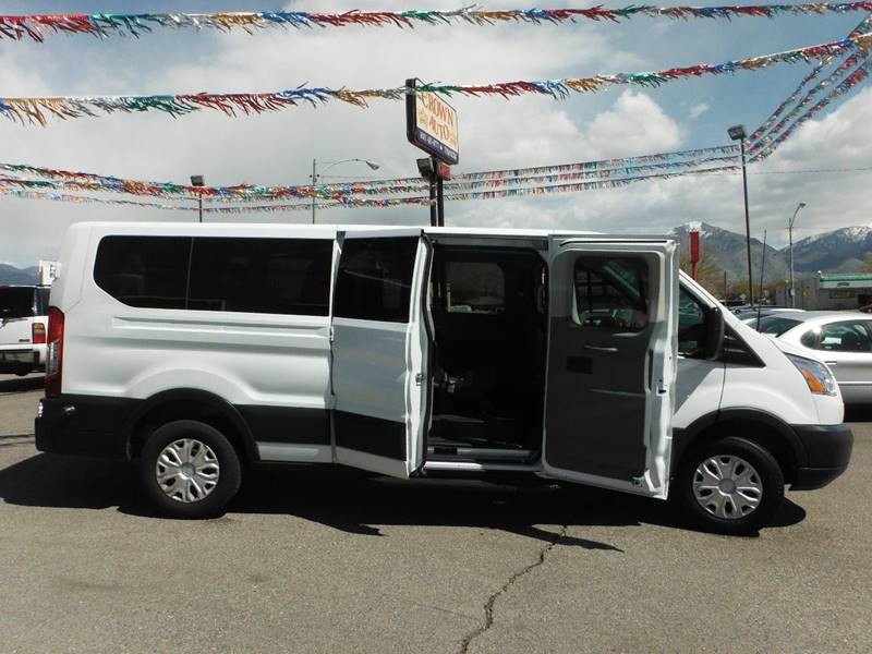 2016 Ford Transit Wagon 350 XLT 3dr LWB Low Roof Passenger Van w/60/40 Passenger Side Doors - South Salt Lake UT