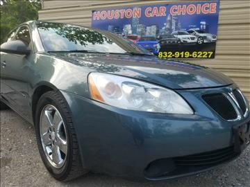 2006 Pontiac G6 for sale in Houston, TX