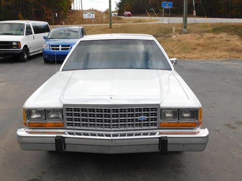 1985 Ford LTD Crown Victoria for sale in Crawford, GA