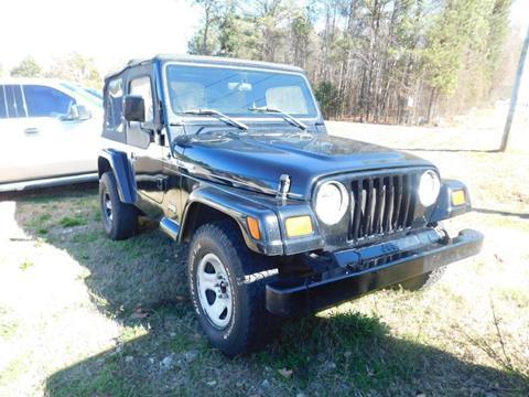 1997 Jeep Wrangler for sale in Crawford, GA