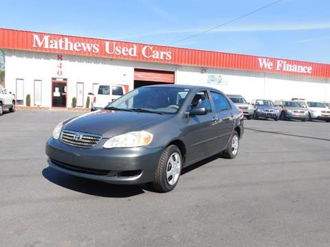 2005 Toyota Corolla for sale in Crawford, GA