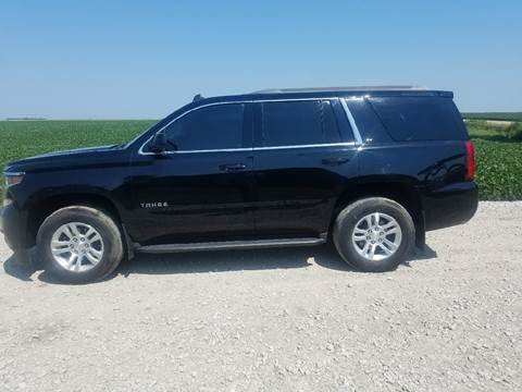 2015 Chevrolet Tahoe for sale in Lindsay, NE