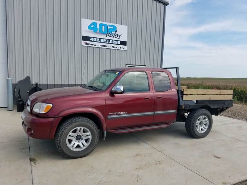 2003 Toyota Tundra For Sale At 402 Autos In Lindsay NE