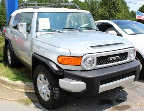 2007 Toyota FJ Cruiser For Sale In Lilburn, GA