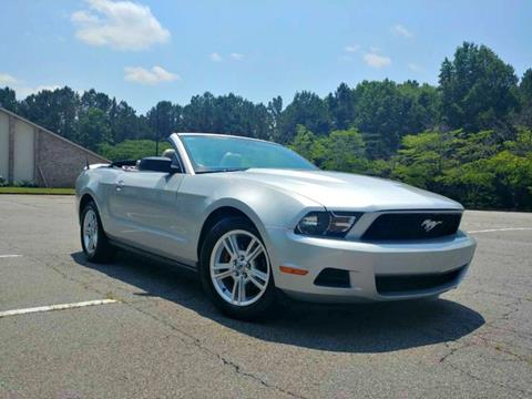 2010 Ford Mustang For Sale >> 2010 Ford Mustang For Sale In Lilburn Ga