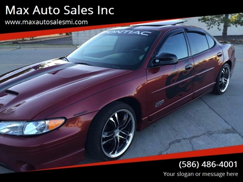 2000 Pontiac Grand Prix for sale in Warren, MI