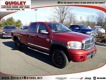 2007 Dodge Ram Pickup 3500 for sale in Boyertown, PA