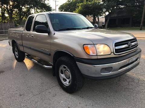 2001 Toyota Tundra for sale in Dallas, TX