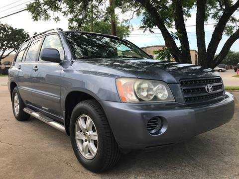2001 Toyota Highlander for sale in Dallas, TX
