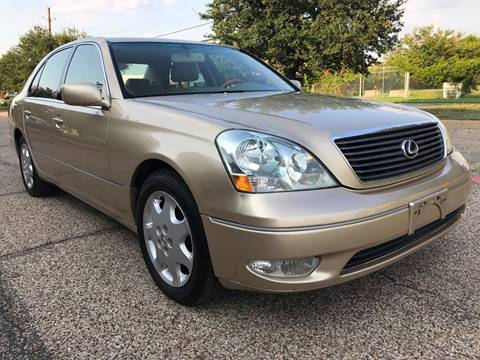 2003 Lexus LS 430 for sale in Dallas, TX