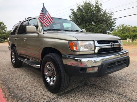 2001 Toyota 4Runner for sale in Dallas, TX