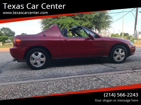 1994 Honda Civic Del Sol For Sale In Dallas, TX