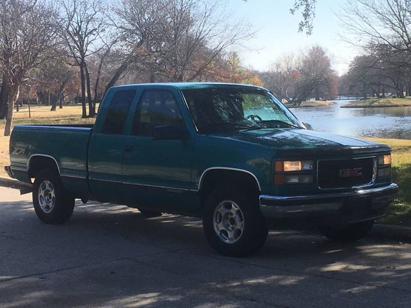 1996 gmc z71 extended cab