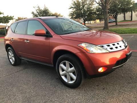 2004 Nissan Murano for sale in Dallas, TX