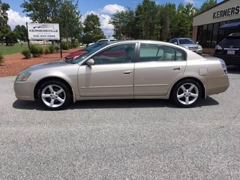 2005 Nissan Altima for sale at KERNERSVILLE AUTO SALES in Kernersville NC