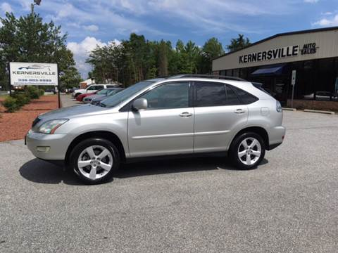 2004 Lexus RX 330 for sale at KERNERSVILLE AUTO SALES in Kernersville NC