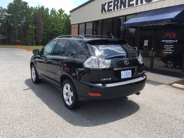 2007 Lexus RX 350 for sale at KERNERSVILLE AUTO SALES in Kernersville NC
