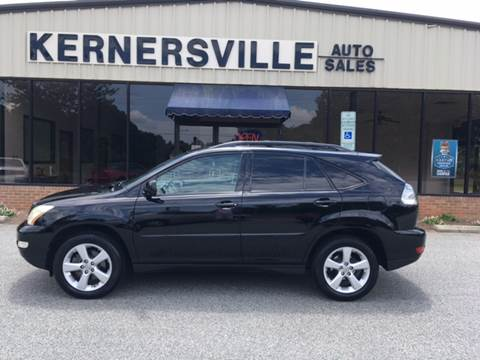2007 Lexus RX 350 for sale at KERNERSVILLE AUTO SALES in Kernersville NC