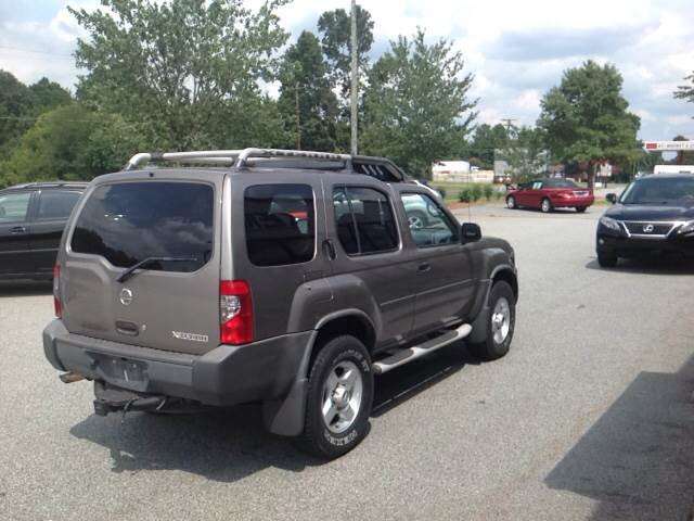 2003 Nissan Xterra for sale at KERNERSVILLE AUTO SALES in Kernersville NC