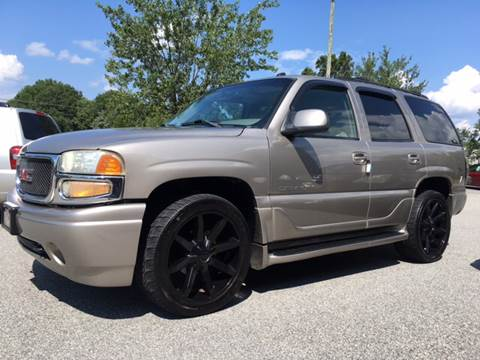 2003 GMC Yukon for sale at KERNERSVILLE AUTO SALES in Kernersville NC