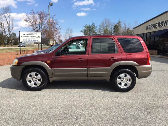 2003 Mazda Tribute for sale at KERNERSVILLE AUTO SALES in Kernersville NC