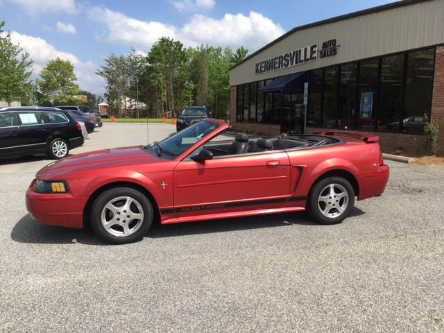 2002 Ford Mustang for sale at KERNERSVILLE AUTO SALES in Kernersville NC