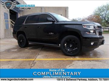 2015 Chevrolet Tahoe for sale in Addison, TX