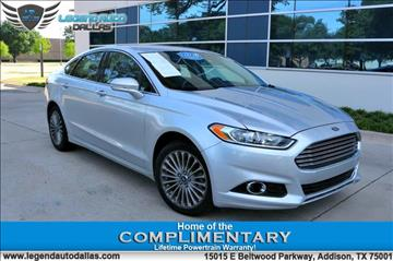 2014 Ford Fusion for sale in Addison, TX