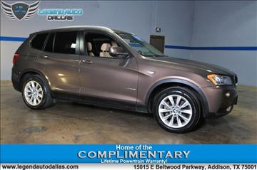 2013 BMW X3 for sale in Addison, TX