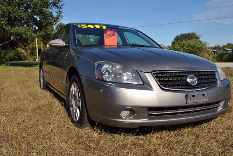 2006 Nissan Altima 25 S 4dr Sedan Wautomatic In Lutz Fl Stg Auto