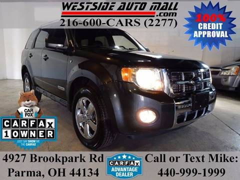 2008 Ford Escape for sale at Westside Auto Mall in Parma OH