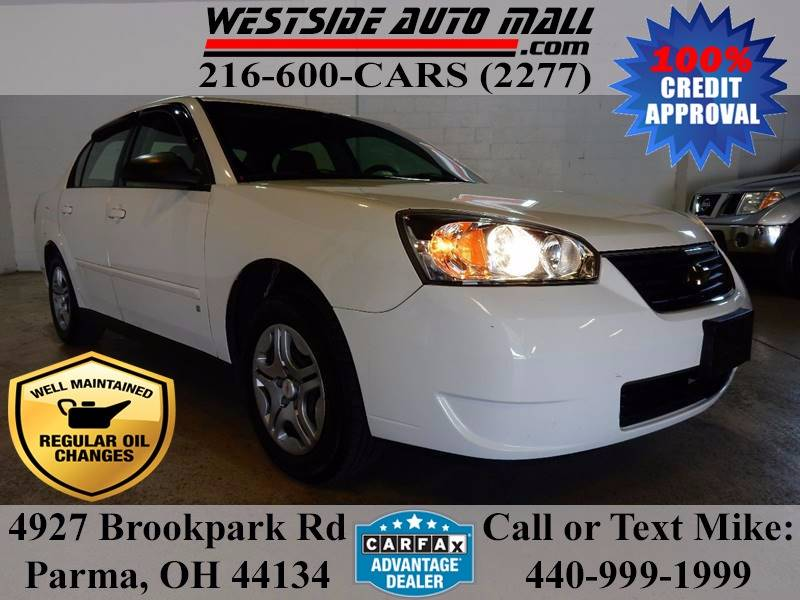 2007 Chevrolet Malibu for sale at Westside Auto Mall in Parma OH
