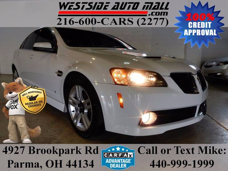 2009 Pontiac G8 for sale at Westside Auto Mall in Parma OH