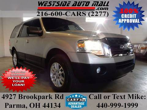 2007 Ford Expedition for sale at Westside Auto Mall in Parma OH